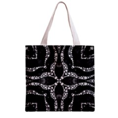 Black Onyx  All Over Print Grocery Tote Bag