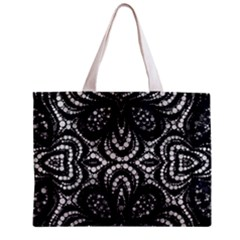 Twisted Zebra  All Over Print Tiny Tote Bag