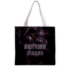 Chasing Clouds All Over Print Grocery Tote Bag