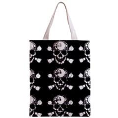 Skull Bling All Over Print Classic Tote Bag