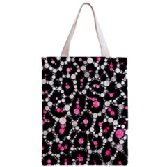 Pink Cheetah Bling All Over Print Classic Tote Bag