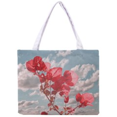 Flowers In The Sky All Over Print Tiny Tote Bag