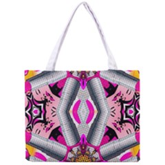 Fashion Girl All Over Print Tiny Tote Bag