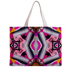 Fashion Girl All Over Print Tiny Tote Bag