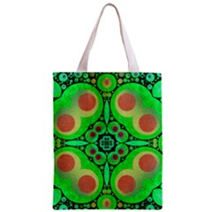 Neon Green  All Over Print Classic Tote Bag
