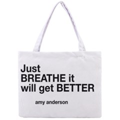 Just Bresthe All Over Print Tiny Tote Bag