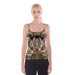 Crazy Abstract  All Over Print Spaghetti Strap Top