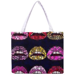 Bling Lips  All Over Print Tiny Tote Bag