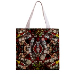 Crazy Abstract  All Over Print Grocery Tote Bag