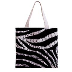 Spoiled Zebra  All Over Print Grocery Tote Bag
