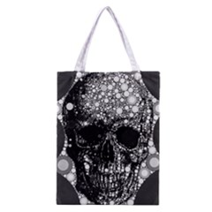 Black Skull  All Over Print Classic Tote Bag