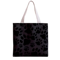 Black Cat All Over Print Grocery Tote Bag