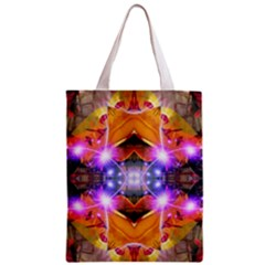 Abstract Flower All Over Print Classic Tote Bag
