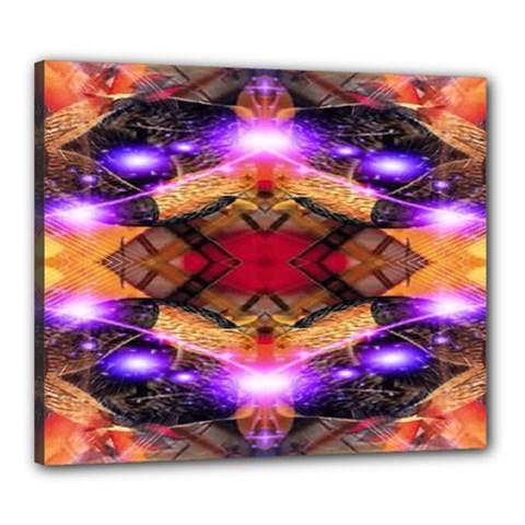 Third Eye Canvas 24  X 20  (framed)