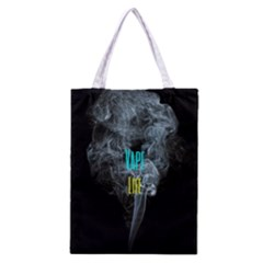 Vape Life Clouds  All Over Print Classic Tote Bag