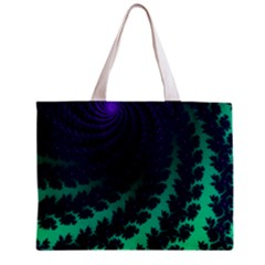 Sssssssfractal All Over Print Tiny Tote Bag