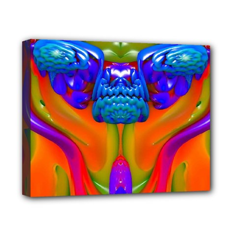 Lava Creature Canvas 10  X 8  (framed)