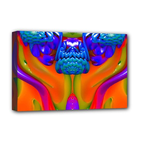 Lava Creature Deluxe Canvas 18  X 12  (framed)