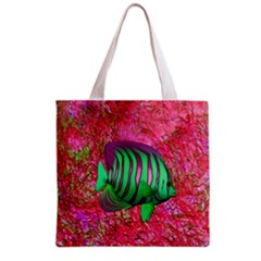 Fish All Over Print Grocery Tote Bag