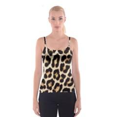 Leopard Print  All Over Print Spaghetti Strap Top