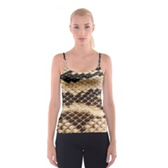 Snake Skin  All Over Print Spaghetti Strap Top