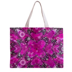 Dazzling Hot Pink All Over Print Tiny Tote Bag