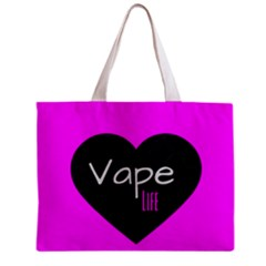 Hot Pink Vape Heart All Over Print Tiny Tote Bag