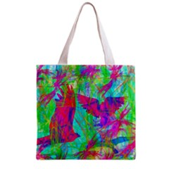 Birds In Flight All Over Print Grocery Tote Bag