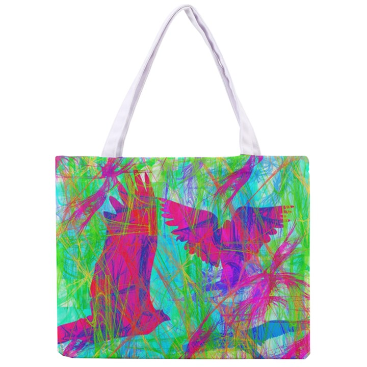 Birds In Flight All Over Print Tiny Tote Bag