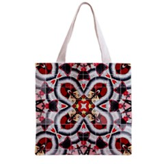 Fashion Girl Red All Over Print Grocery Tote Bag