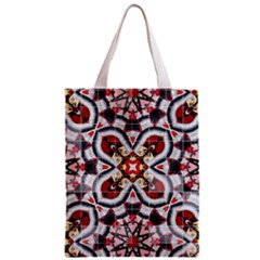 Fashion Girl Red All Over Print Classic Tote Bag