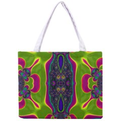 Hippie Fractal  All Over Print Tiny Tote Bag