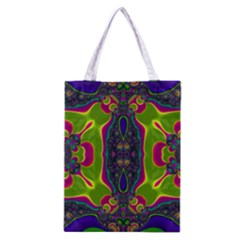 Hippie Fractal  All Over Print Classic Tote Bag