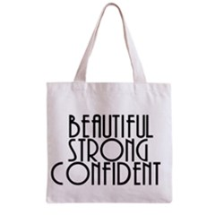 Beautiful Strong Confident  All Over Print Grocery Tote Bag