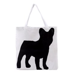 French Bulldog Silo Black Ls All Over Print Grocery Tote Bag