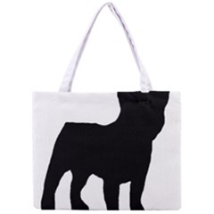 French Bulldog Silo Black Ls All Over Print Tiny Tote Bag