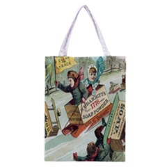Clear The Track All Over Print Classic Tote Bag