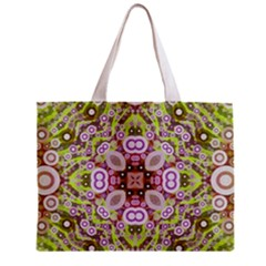 Crazy Abstract Pattern All Over Print Tiny Tote Bag
