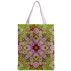 Crazy Abstract Pattern All Over Print Classic Tote Bag