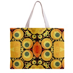 Bright Abstract Art N All Over Print Tiny Tote Bag