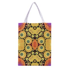 Bright Abstract Art N All Over Print Classic Tote Bag