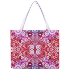 Girly Pink Polkadots  All Over Print Tiny Tote Bag