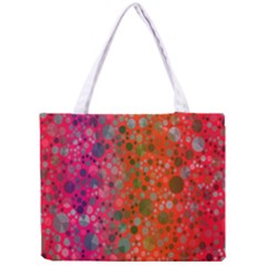 Florescent Abstract  All Over Print Tiny Tote Bag