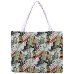 Clear The Track All Over Print Tiny Tote Bag