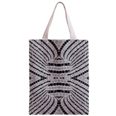 Insane Black&white Textured  All Over Print Classic Tote Bag