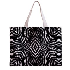 Zebra Twists  All Over Print Tiny Tote Bag