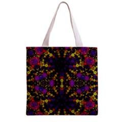 Color Bursts  All Over Print Grocery Tote Bag