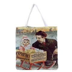 Babbitt s Soap Powder All Over Print Grocery Tote Bag