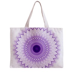 Mandala All Over Print Tiny Tote Bag