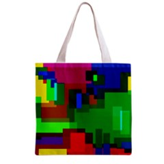 Pattern All Over Print Grocery Tote Bag